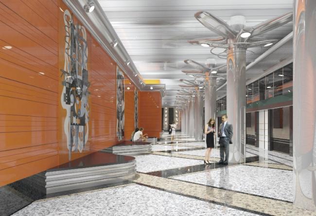 Станция метро «Беговая»