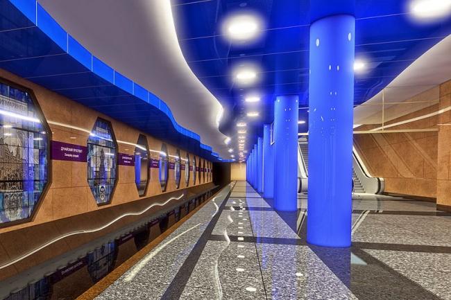 Станция метро «Дунайская» © Ленметрогипротранс