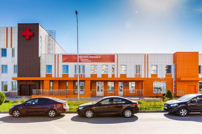Поликлиника в поселении Десеновское. Проектировщик: ЗАО «Градостроительное проектирование». Предоставлено пресс-службой «Москомархитектуры»