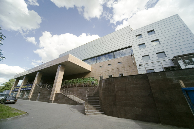 Академия волейбола Платонова. Реализация, 2006 © Архитектурное бюро «А.Лен»