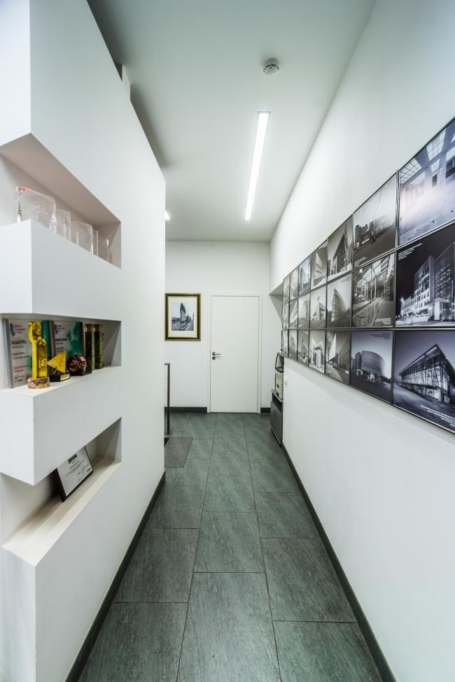 Интерьеры офиса архитектурного бюро «А.Лен». Фотограф © Гущин А.В.