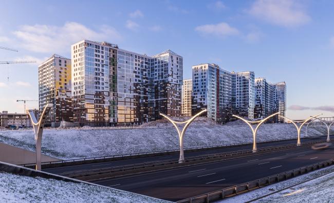 Жилой комплекс «Светлый мир «Я – Романтик…», I очередь © Архитектурное бюро «А.Лен»