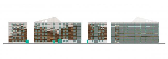 Жилой комплекс «Светлый мир «Я – Романтик…», I очередь. Корпус 4 © Архитектурное бюро «А.Лен»
