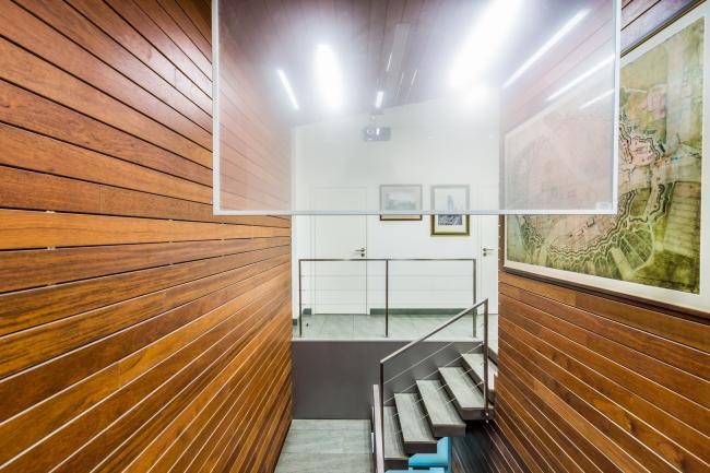 Интерьеры офиса архитектурного бюро «А.Лен». Фотография © Гущин А.В.
