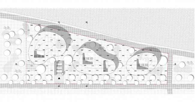 Конкурсный проект библиотеки в Гайд-парке. Автор: Агата Баликовская (Agata Balikowska), Польша