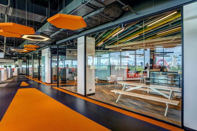 Штаб-квартира Adidas в Москве. Проектировщик: бюро ABD Architects и Scott Brownrigg. Фото © АСП-Технолоджи