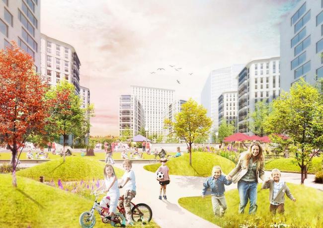 ВТБ Арена Парк © Blank Architects