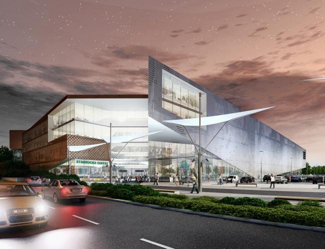 Торговый центр «Бутово Молл» © Blank Architects