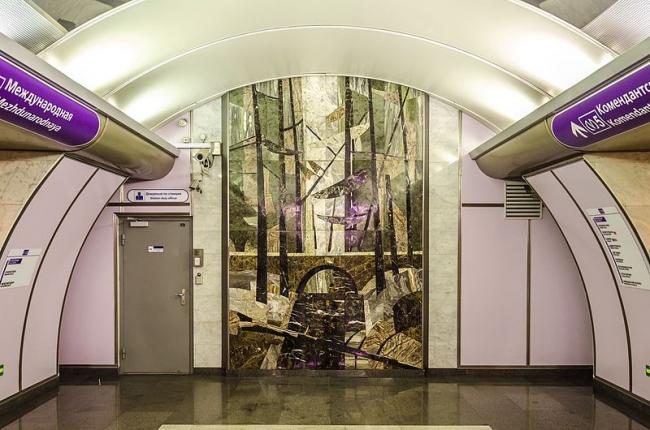 Станция метро «Волковская». Фото: Alex ′Florstein′ Fedorov via Wikimedia Commons. Лицензия CC BY-SA 4.0