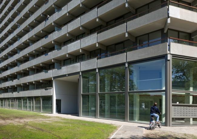 Жилой комплекс deFlat Kleiburg – реконструкция © Marcel van der Burg