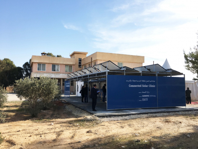 Connected Solar Clinic © GRAFT
