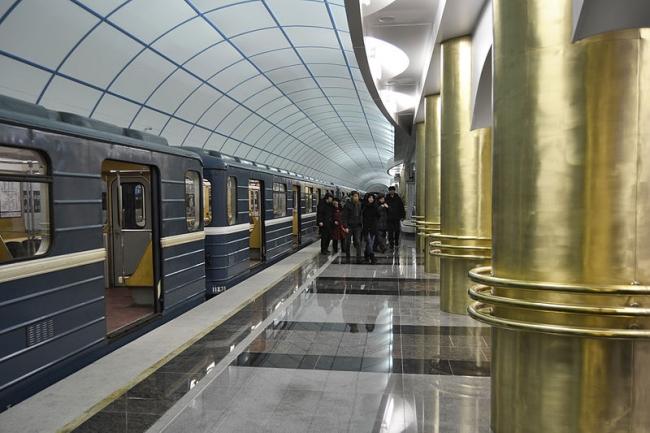 Станция метро «Международная». Фото: Степанов К.А. via Wikimedia Commons. Лицензия CC BY-SA 3.0