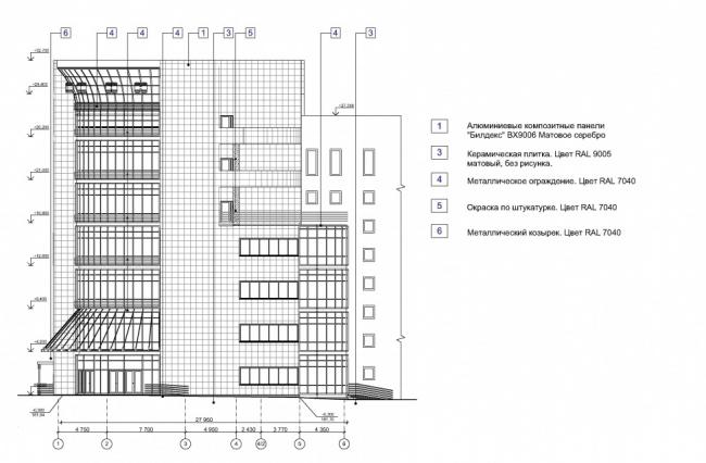 Производственное здание на Нахимовском проспекте © ООО «СпецПроект». Предоставлено пресс-службой «Москомархитектуры»