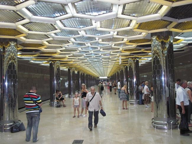 Станция метро «Ботаническая». Фото: Skyboy103 via Wikimedia Commons. Лицензия CC-BY-SA-3.0