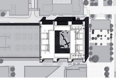 Калифорнийский Институт НаноСистем. Вид с птичьего полёта. Проект