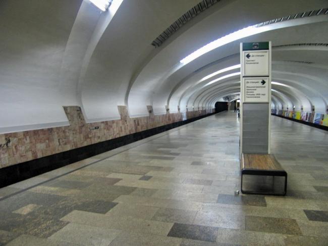 Станция метро «Уралмаш». Фото: Kostya Wiki via Wikimedia Commons. Лицензия CC BY-SA 2.5