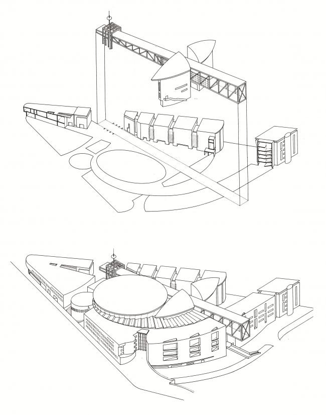 Комплекс «Город музыки» © Atelier Christian de Portzamparc