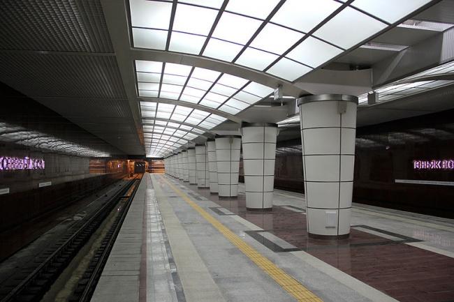 Станция метро «Северный вокзал». Фото: Vario Solo via Wikimedia Commons. Лицензия CC BY-SA 3.0