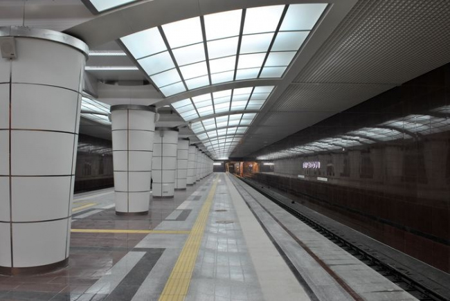 Станция метро «Северный вокзал». Фото: TY-214 via Wikimedia Commons. Лицензия CC BY-SA 3.0