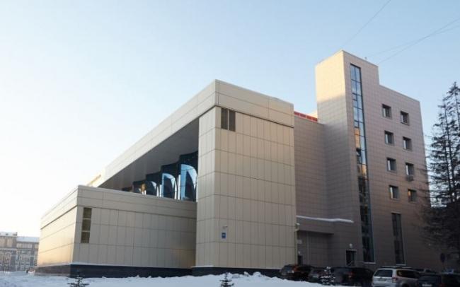 Новосибирский государственный концертный зал им. Арнольда Каца. Фотография с сайта www.trimo-rus.ru