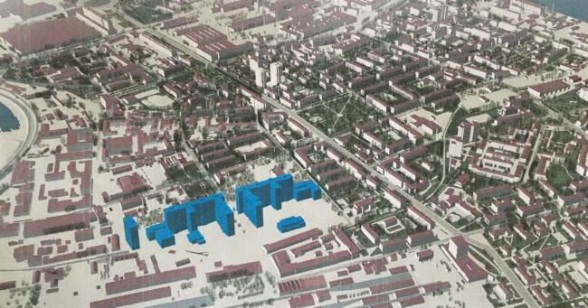 ЖК в Невском районе. Перспектива © «ПАРИТЕТ ГРУПП»