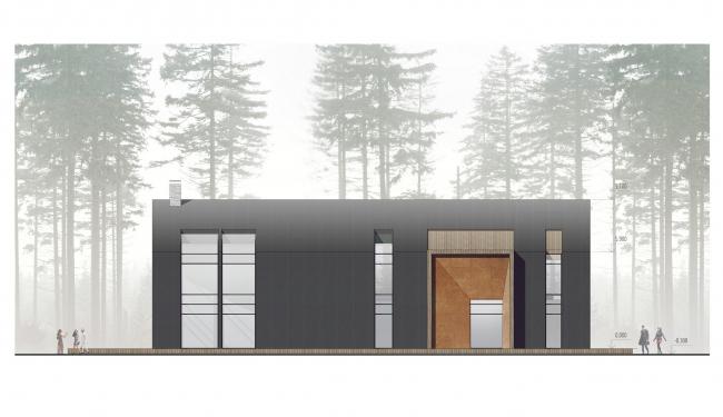 Проект рекреационного оздоровительного комплекса © Архитектурное бюро «А.Лен»