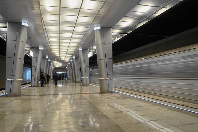 Станция метро «Козья слобода». Фото: TY-214 via Wikimedia Commons. Лицензия CC BY-SA 3.0