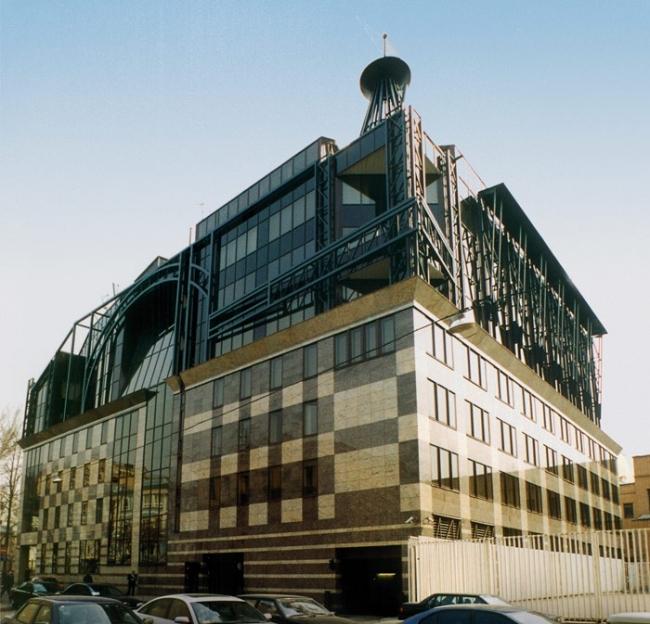 Офисное здание в Большом Гнездниковском © Моспроект-4