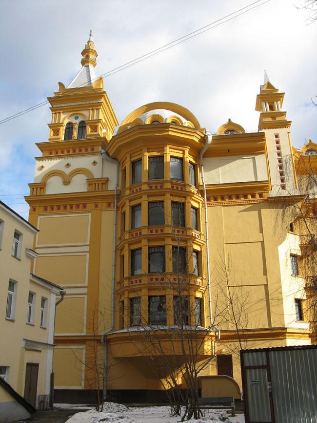 Жилой дом в Хвостовом переулке. Фото: vow via Wikimedia Commons. Лицензия  CC BY-SA 3.0