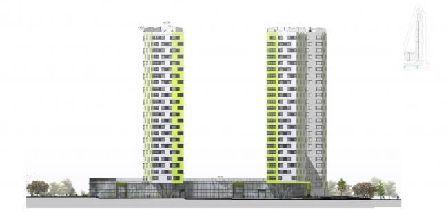 """Housing complex """"Russia. Five Capitals"""" © A.Len"""