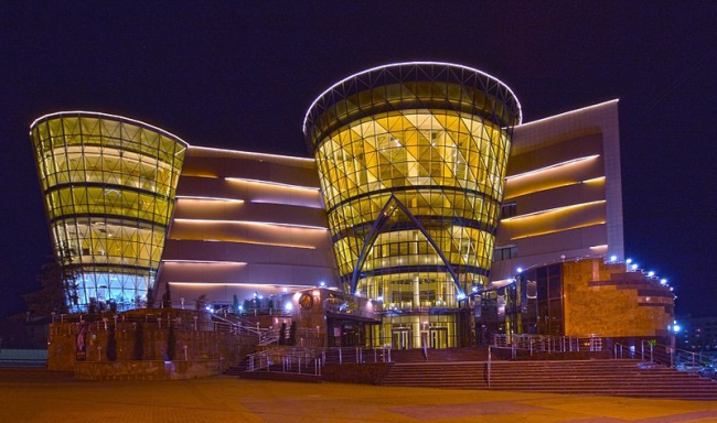 Белгородская государственная филармония. Фото: Belgorod State Philharmonic via Wikimedia Commons. Фото находится в общем доступе