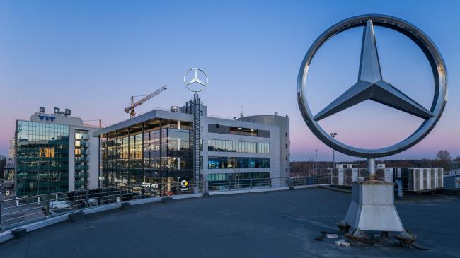 """Avangard"" car service center © ""A.Len"""