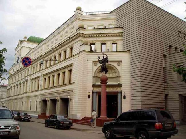 Театр «Комедия». Фото: Artem Korzhimanov via Wikimedia Commons. Лицензия CC BY 3.0