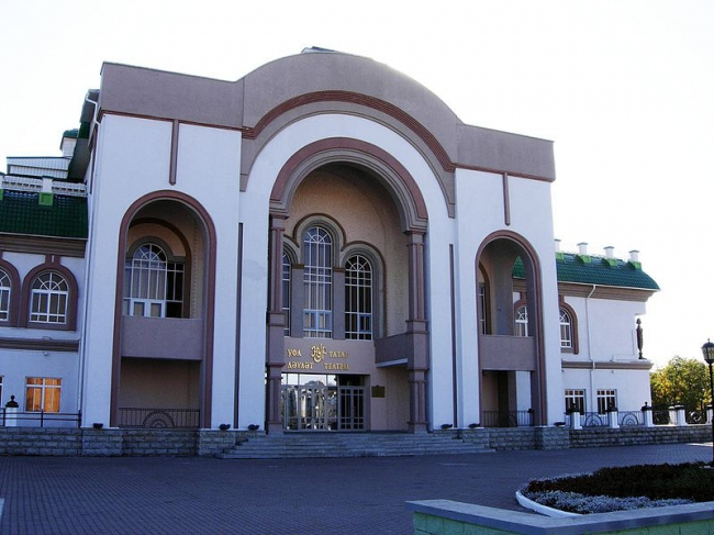 Уфимский театр «Нур». Фото: FlankerFF via Wikimedia Commons. Лицензия CC BY-SA 3.0