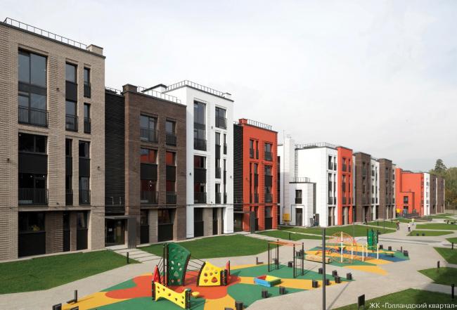 """""""Dutch Quarter"""" housing complex © UNK Project"""