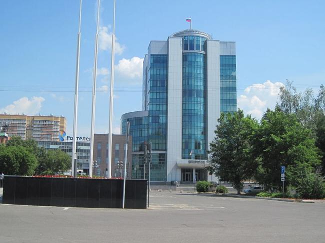 Здание Верховного Суда Удмуртской Республики. Фото: Yan.gorev via Wikimedia Commons. Лицензия CC BY-SA 3.0