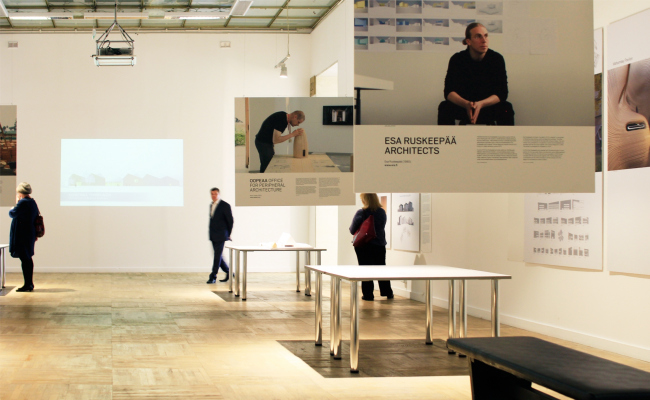 Soumi seven, выставка финского музея архитектуры. Арх Москва 2017.  Фотография © Юлия Тарабарина, Архи.ру