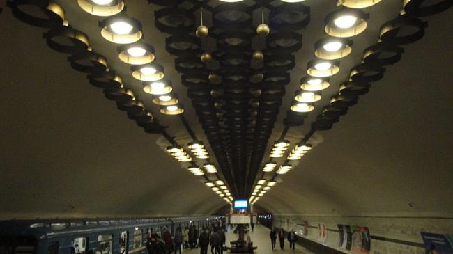 Станция метро «Заельцовская». Фото: Sskz via Wikimedia Commons. Лицензия  CC-BY-SA-3.0