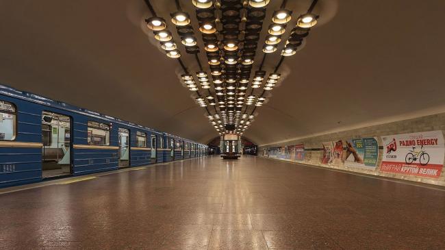 Станция метро «Заельцовская». Фото: A.Savin via Wikimedia Commons. Лицензия  Free Art License 1.3