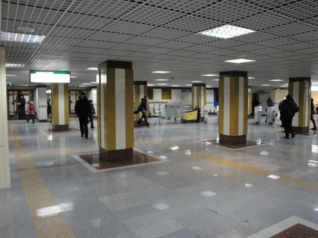 Станция метро «Золотая Нива». Фото: Sskz via Wikimedia Commons. Лицензия CC BY-SA 3.0