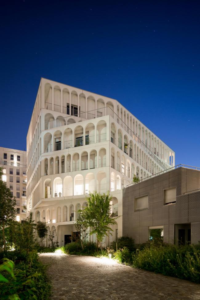 Комплекс социального жилья Arches Boulogne © Pierre L′Excellent