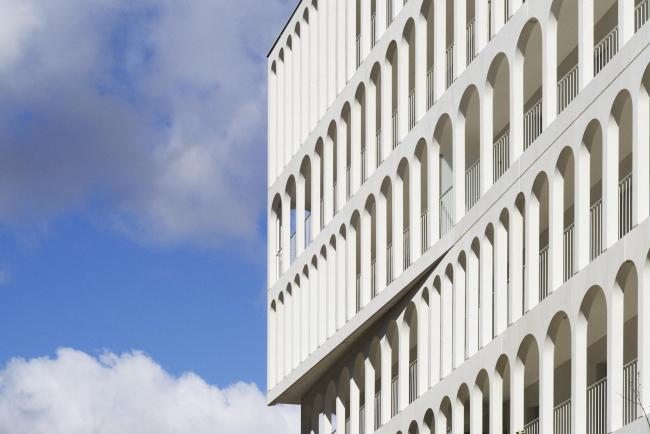 Комплекс социального жилья Arches Boulogne © Julien Lanoo
