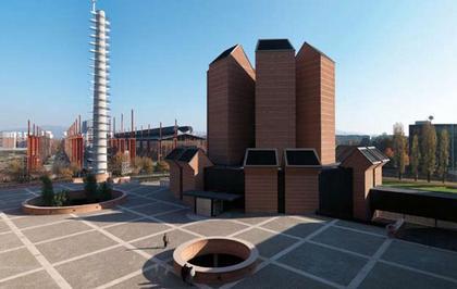 Марио Ботта. Церковь Санто Вольто в Турине. 2006