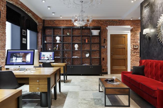 Номинация «Лучший офисный интерьер». Studia-54, офис дизайн-бюро Studia-54