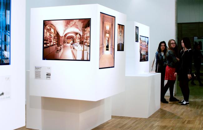 Выставка Archdaily. Фотография © Юлия Тарабарина, Архи.ру