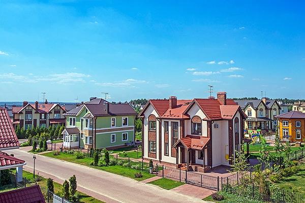 Коттеджный поселок «Европа». Фотография предоставлена компанией «Красные крыши»