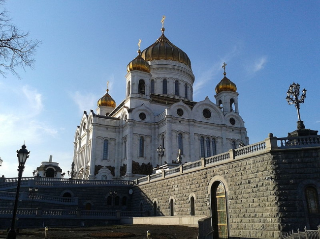 Храм Христа Спасителя, Москва. Фото: C.caramba2010 via Wikimedia Commons. Лицензия CC BY-SA 3.0