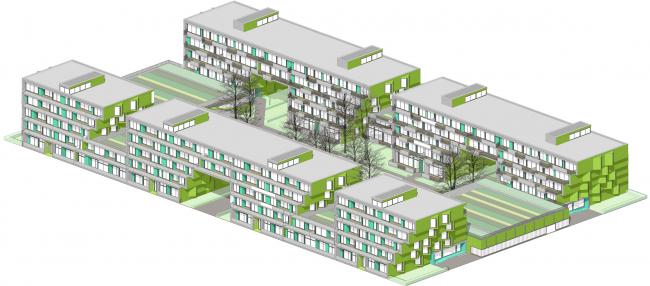 Жилой квартал TWIST&STEP © ДНК аг