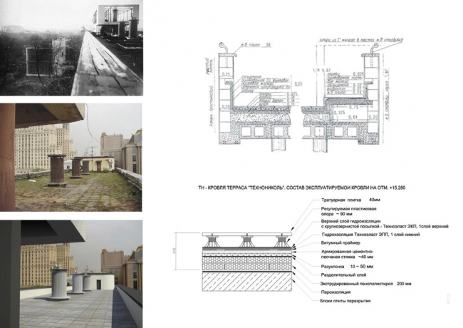 "Project of restoration and adaptation of the cultural heritage site ""Narkomfin Building"" (2015-2017) © Ginsburg Architects"