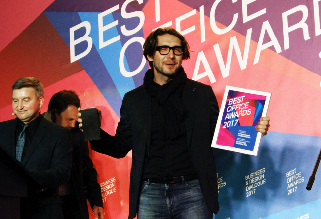 Церемония награждения победителей премии Best Office Awards. Kleinewelt Architekten. Фотография © Дмитрий Павликов